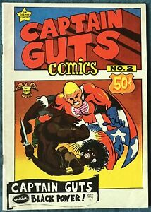 Captain Guts #2  Underground Comix 1970