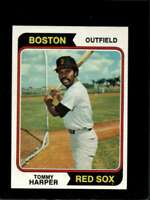 1974 TOPPS #325 TOMMY HARPER EX RED SOX  *X7061