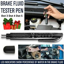 DOT3 DOT4 Brake Fluid Tester 5 LED Auto Car Diagnostic Brakes Testing Pen