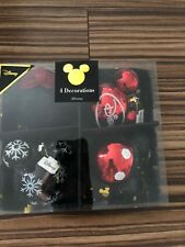 Micky Mouse Christmas Baubles