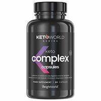 KETO COMPLEX - Puissant Brûleur de Graisse & Coupe Faim Efficace - Idéal pour