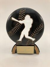 Baseball Resin Trophy! Free Engraving! Ships In 1 Business Day!