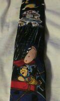 Vintage Fred Flintstone At Work  Novelty Necktie Licensed Product 1993 Rare