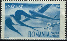 Romania Aviation Aicraft over Bird stamp 1949 MLH