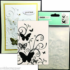BUTTERFLY FLOURISH embossing folder EF237 Kaisercraft embossing folders insects