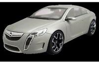 SCHUCO 50725901 OPEL GTC CONCEPT diecast model road car Satin silver 1:43rd