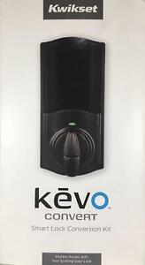 Kwikset Revo Smart Lock Conversion Kit Alexa Bluetooth Keyless Deadbolt Bronze