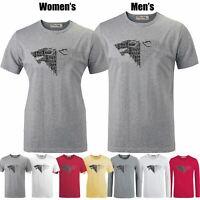 Stark Winter is Coming Slogan Print T-Shirt Mens Womens Graphic Tee Shirt Tops