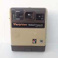 Vtg Kodak Eastman Partytime Instant Camera Vintage Photography Photo 80s 1980s