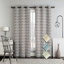 Stylish Justin Blackout Curtains with Grommets (pair)
