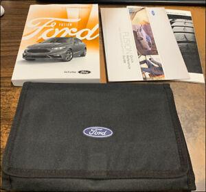 2018 Ford Fusion Propietarios Manual Gas Usuario Operador Instrucción Guía Libro