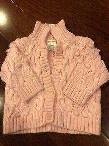 Gymboree Baby Girls 3-6 Month Sweater
