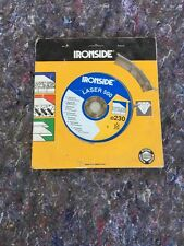 Ironside Laser 500 230mm Diamond Blade
