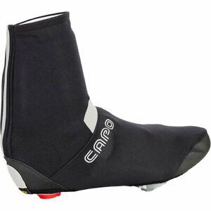 Capo Men's Piemonte Road Bike Cycling Wind Bootie Shoe Covers - Black/Red