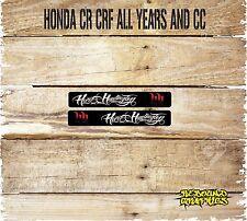 HONDA CRF CR 85 125 150 250 450 MOTOCROSS SWINGARM GRAPHICS-DECALS-STICKERS-HH