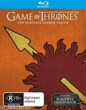GAME OF THRONES SEASON 4 : NEW Blu-Ray / DEATH BOOK
