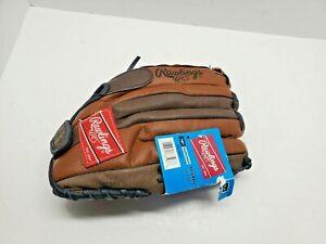 "Rawlings Baseball Glove Brown Leather Derek Jeter PL120 12"" LHT"