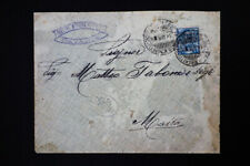 Italy 1908 Stamped Cover to Malta
