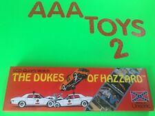 Dukes Of Hazzard LCD Quartz Watch Ertl Unisonic General Lee NEW Excellent