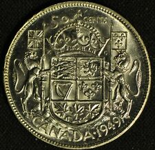 Canada 1949 50 Cent Piece - Buyers Grade -