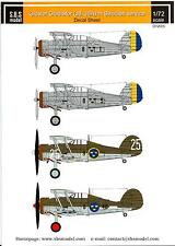 SBS Models Decals 1/72 GLOSTER GLADIATOR (J8 & J8A) Swedish Air Force Part 1
