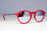 RAY-BAN Mens Womens Unisex Mirror Sunglasses Burgundy RB 4243 6264/B5 19772