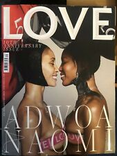 LOVE Magazine 10th Anniversary - Adwoa Aboah & Naomi Campbell Cover