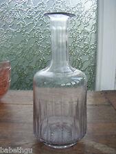BELLE CARAFE PICHET ANCIEN XIXème - verre soufflé -23 cms