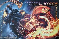 GHOST RIDER - SPIRIT OF VENGEANCE MOVIE POSTER FROM ASIA: NICOLAS CAGE