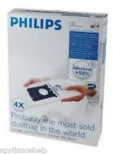 Genuine PHILIPS Vacuum Cleaner Bags S Bag FC8021 4 Pk