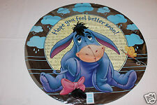 "NEW WINNIE THE POOH EEYORE FEEL BETTER 18"" MYLAR BALLOON  PARTY SUPPLIES"