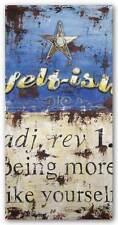 ADVERTISING ART PRINT Selfish Rodney White