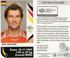 Panini WM 2006: Update-, Extra-Sticker Lehmann, toprar !!!