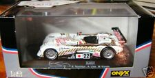2000 PANOZ SPYDER LMP LeMANS 1:43 DIECAST WITH DISPLAY CASE WHITE