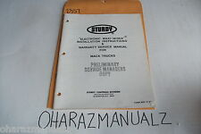 6-1987 MACK Sturdy Electronic Maxi-Miser Install Instructions + Service Manual