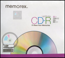 Memorex CD-R LightScribe 10psc Slim case