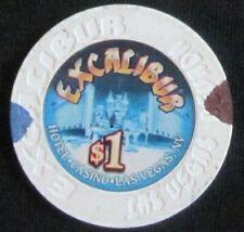 New listing Excalibur $1 Chip Las Vegas, Nevada