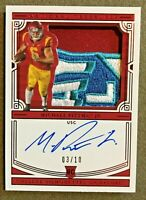 2020 National Treasures Collegiate Michael Pittman Jr Patch RC Auto 03/10 USC