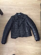 Alexander Wang X H&M Padded Leather Jacket Size 6 UK XS