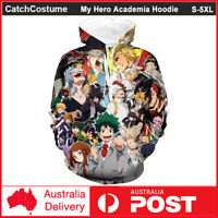 My Hero Academia 3D Print Hoodie Casual Sweater Sweatshirt Pullover Jumper Coat