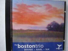 The Boston Trio  Brahms, Ravel, Suk  9 Tracks   2001      I8