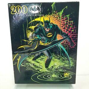 Vintage 1992 Batman Returns 200 Piece Puzzle DC Comics New In Box