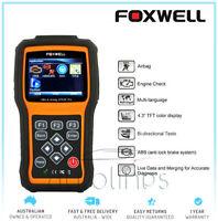 FOXWELL NT630 Pro OBD2 Diagnostic Scan ABS+SAS+SRS Airbag Crash Data Reset Tool