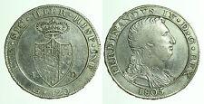 pci0300) Napoli regno Ferdinando IV grana 120 piastra 1805