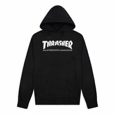 Felpa con Cappuccio Thrasher Skatemag Hoodie Black