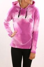 **Hurley**Womens**One And Only Cloud Wash Pullover Hoodie Hooded Jumper Size S