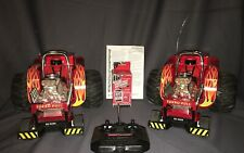 2 RadioShack JackHammer Turbo Pull Remote Control Cars 60-4294