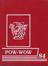 Mad River Middle School Dayton Ohio 1984 Pow - Wow Yearbook Annual OH Year Book