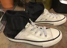 69d5c8cc4763bd CONVERSE CHUCK TAYLOR GIRLS Sz 12 All Star Ruffle Block Party Hi-Top Shoes  NEW