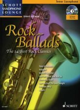 Juchem: ROCK BALLADS Spielbuch + CD für Tenor-Saxophon 978-3-7957-4836-4